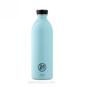 Gourde inox 1000 ml URBAN - CLOUD