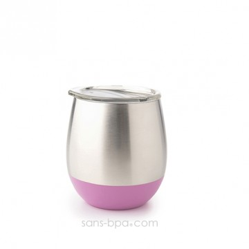 Timbale isolé inox 235ml - Pink
