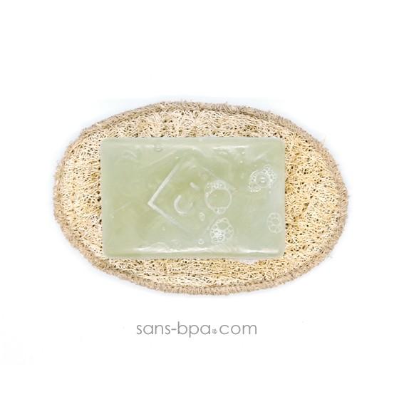 Porte savon Luffa 100% naturel