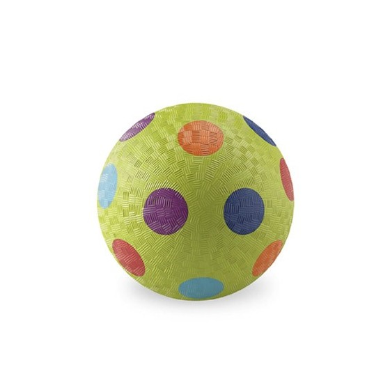 Ballon 18 cm Vert multi-pois de Crocodile Creek