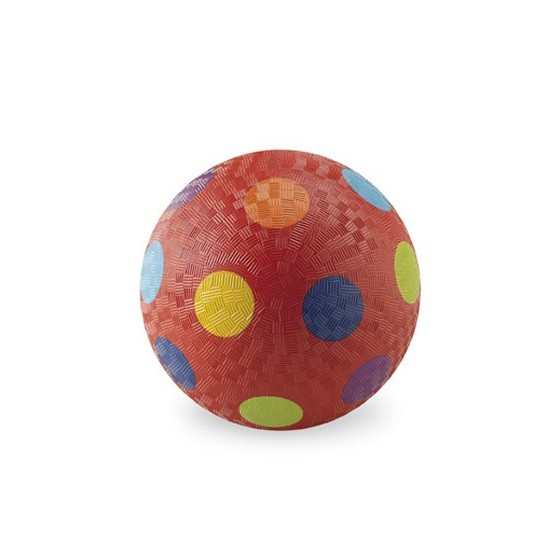 Ballon 18 cm Vert multi-pois de Crocodile Creek
