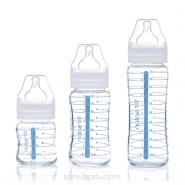 Biberon verre 330ml - Silicone