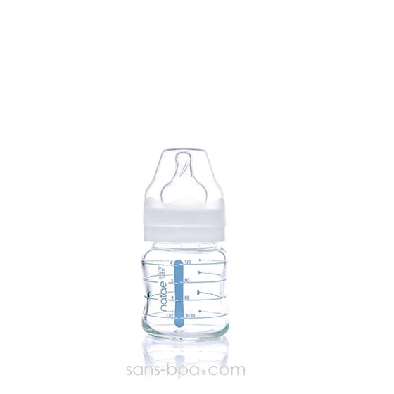 Biberon verre 240ml - Silicone