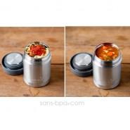 Boite repas isotherme 235 ml GRIS