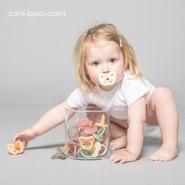 Sucette physiologique 0-3 mois - MILKY LAIT