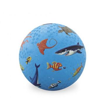 Balle caoutchouc 18 cm OCEAN