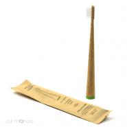 Kit Zéro Déchet - Brosse à dents nomade Modèle Conicolor Kaki - Jolie Monde