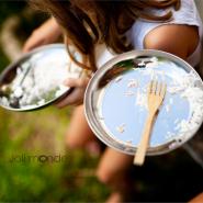 Assiette inox - La P'tite