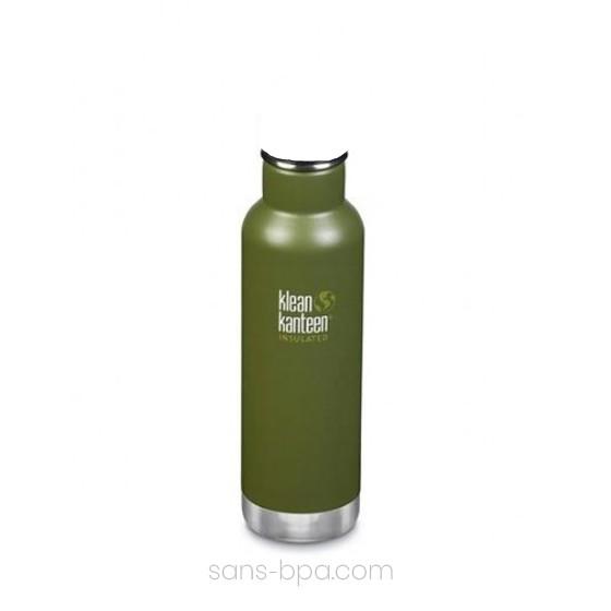 Gourde isotherme inox 590 ml - Kaki