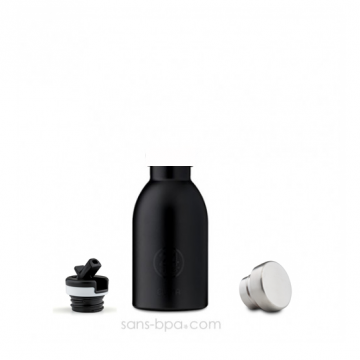 Gourde sport isotherme 330ml CLIMA - Inox