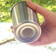 Lot 2 timbales inox 350 ml - Coeur