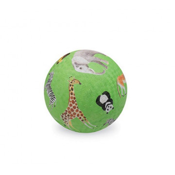 Balle caoutchouc 13 cm JUNGLE