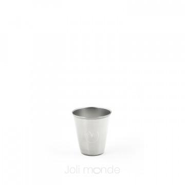 La Mini timbale inox 75 ml - JOLI COEUR