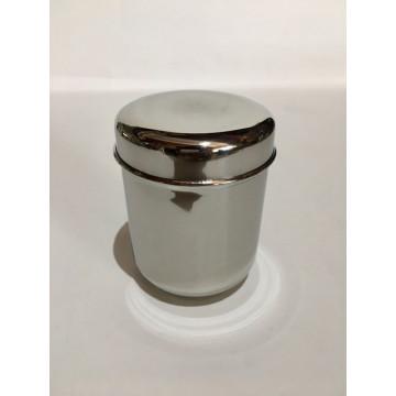 Cabosse - Boite 100% inox La Cylindre 1 - Jolie Ronde