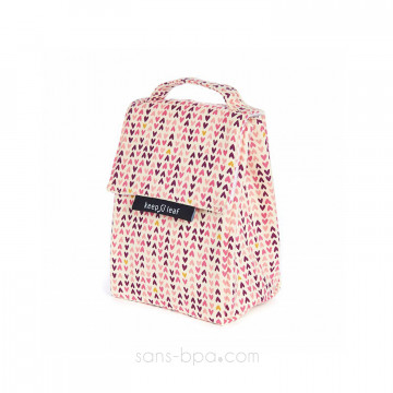 Sac isotherme Lunchbag - P'TITS COEURS