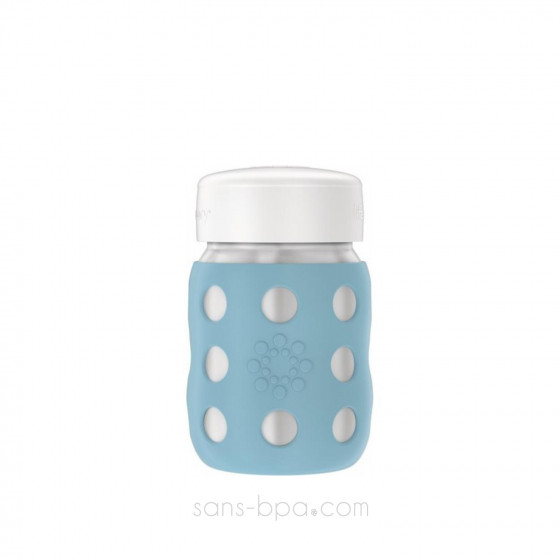 Petite bouteille inox isotherme 235 ml & sa gaine DENIN