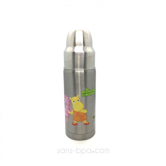 Biberon anti-fuite GL 325 ml inox