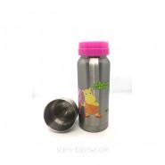 Biberon anti-fuite GL 325 ml inox TreeHouse Rose