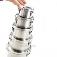 Boite cylindre La Retro Mini . Diam 8cm