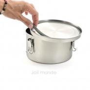 Boite cylindre La Retro Médium . Diam 14cm
