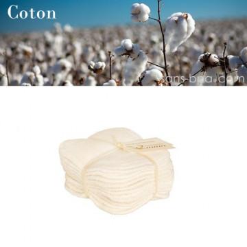 Recharges 10 lingettes lavables coton bio - Les tendances d'Emma