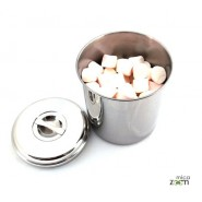 Boite cylindre 16 cm - Onyx