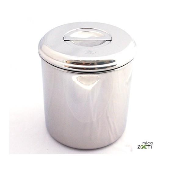 Boite cylindre 21 cm - Onyx