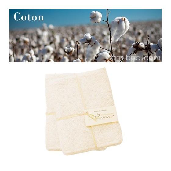 Recharge carrés bébé - Coton Bio - LES TENDANCES D'EMMA