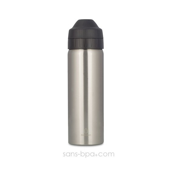 Cocoon - Silver - gourde 600 ml - Isotherme & anti-fuite - Ecococoon