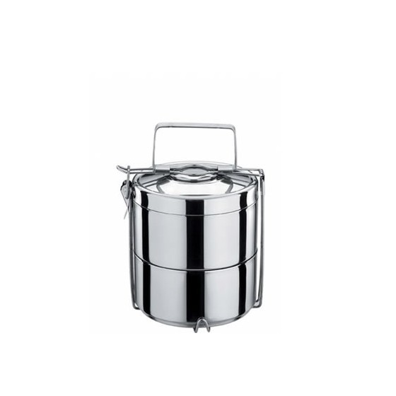 Tiffin tout inox 2 étages isotherme - ONYX