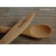 Ensemble bébé Bol & cuillère bambou - BAMBU