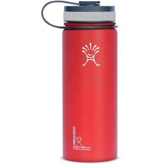 Gourde inox isotherme Goulot Extra Large 530 ml ROUGE - HYDRO FLASK