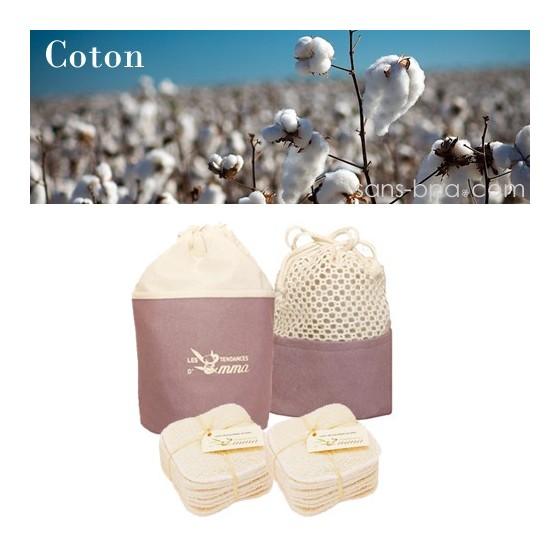 Kit Eco Belle - Coton Bio - LES TENDANCES D'EMMA
