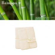 5 Débarbouillettes lavables - Bambou - LES TENDANCES D'EMMA