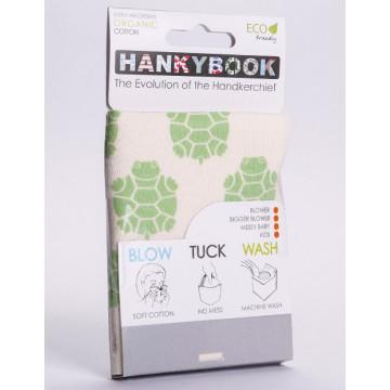 Mouchoir BIO Tortue - Hanky Book