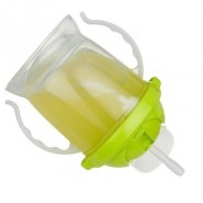 Tasse paille anti-fuite 250 ml - Pink - Inno Baby