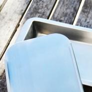 Couvercle à bac à glaçons métallique - ONYX