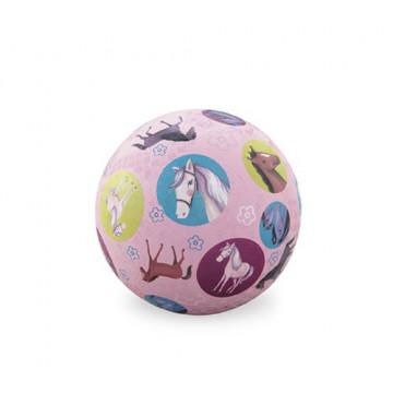 Balle caoutchouc 13 cm PONEY