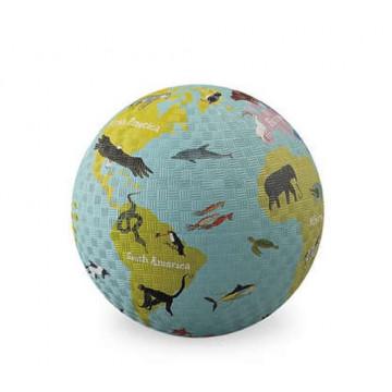 Balle caoutchouc 18 cm WORLD