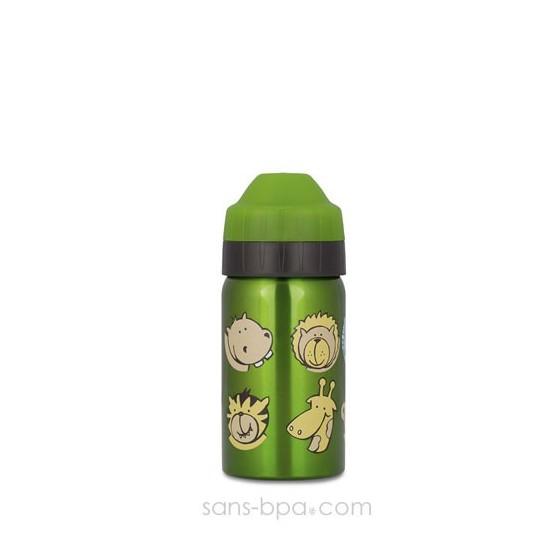 Gourde inox isotherme anti-fuite Cocoon 350 ml - Zoo - Ecococoon
