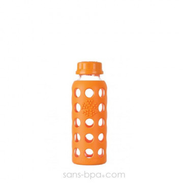 Gourde verre 250 ml ORANGE