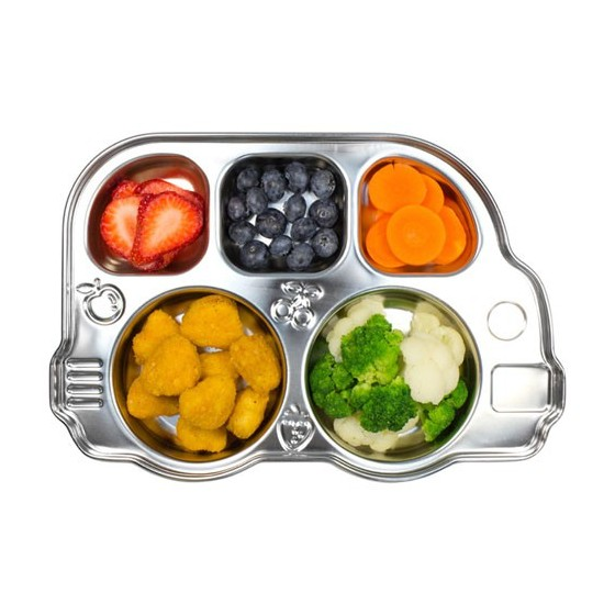 Plateau repas tout inox DIN DIN - INNO BABY