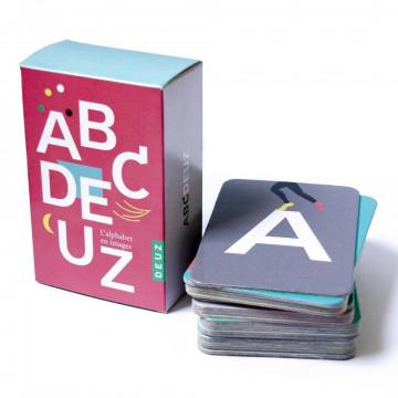 Cartes abécédaires ABCDeuz BIO