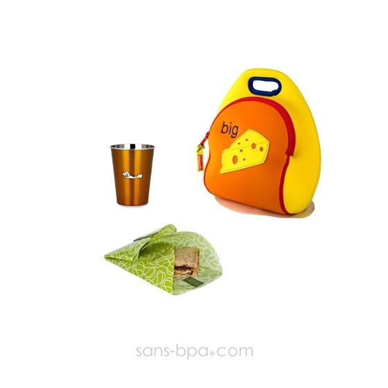 Ensemble 3 pièces sac Fromage