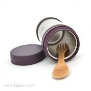 Boite à repas isotherme Aubergine - U Konserve