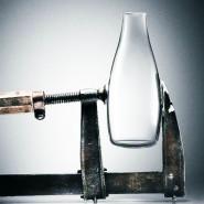 Bouteille verre 500 ml Azur