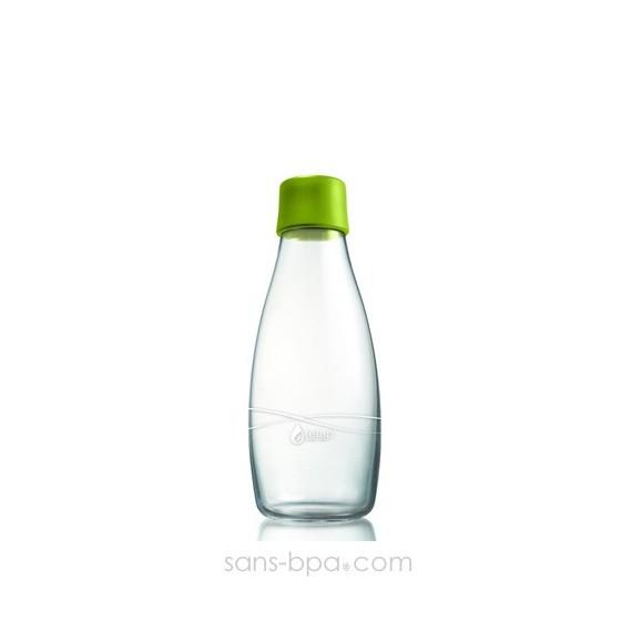 Bouteille verre 300 ml Green