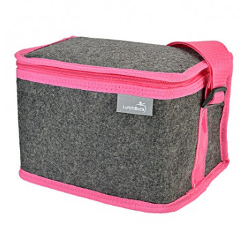 Sac isotherme tissu - Pink
