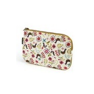 Trousse coton bio - GREEN FLOWER - Keep Leaf