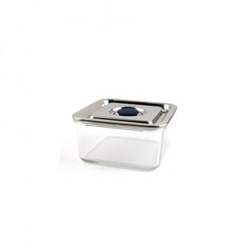 Contenant verre hermétique Carré 500 ml - Médium - ONYX